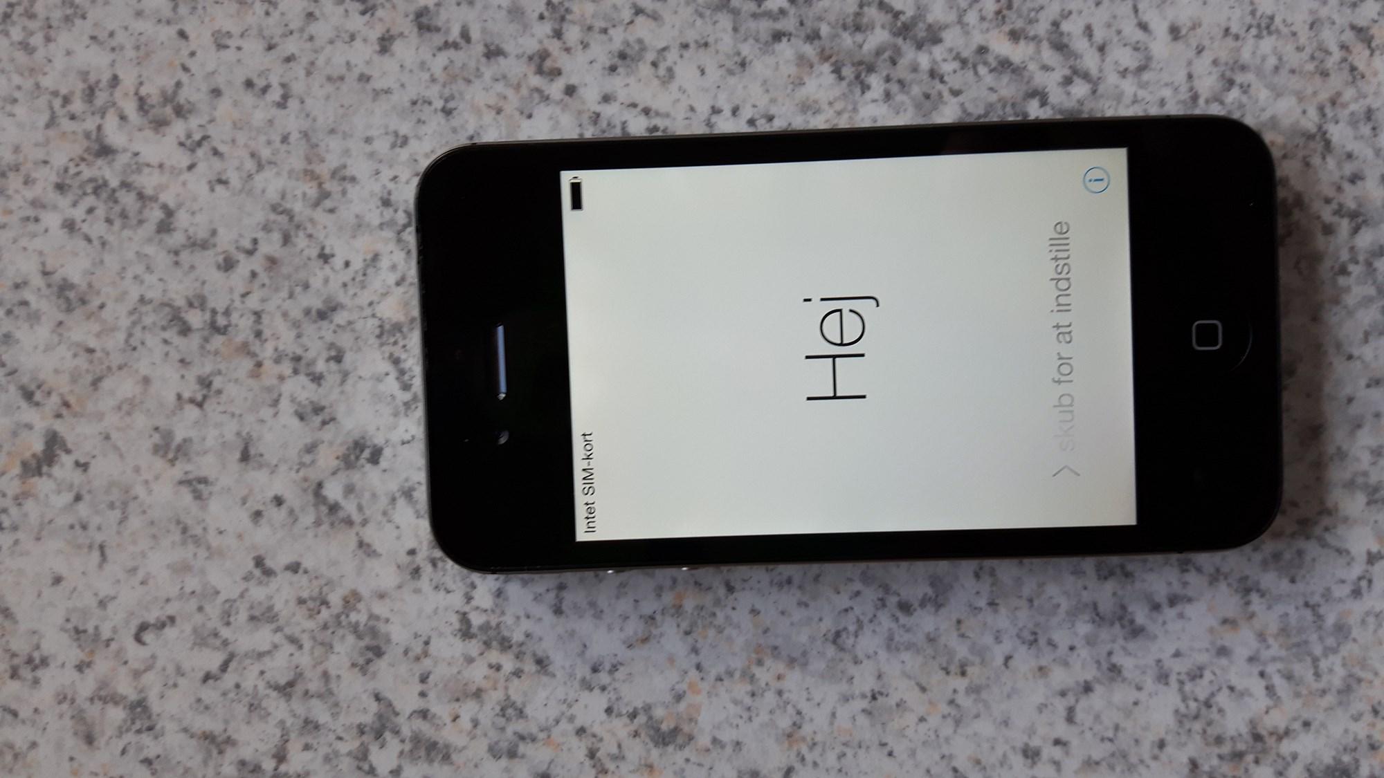 iphone 4s til salg