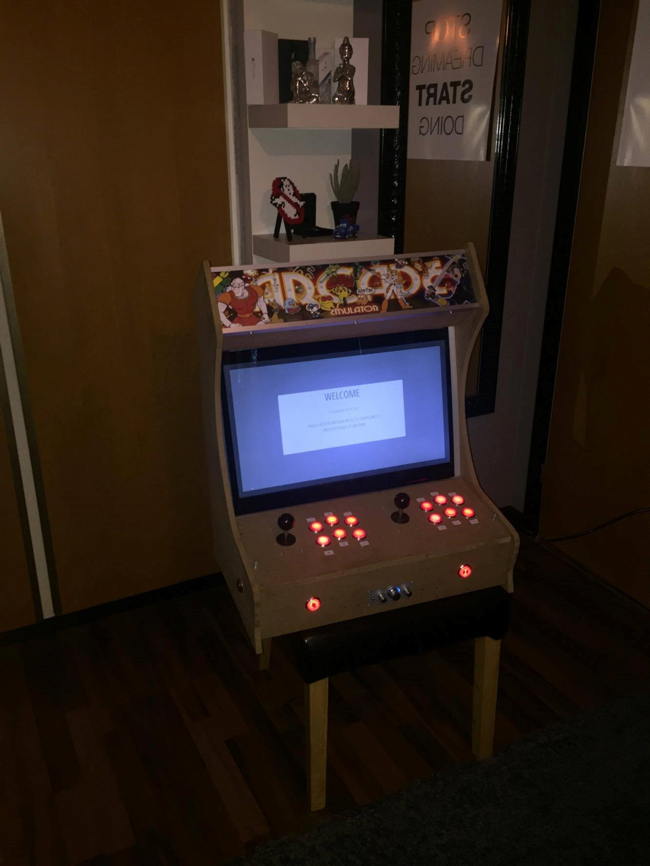 HardwareOnline dk - Køb/salg: S: Bartop Arcade Raspberry Pi 3
